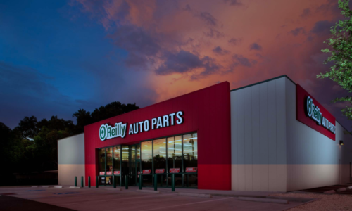 Exterior rendering of O'Reilly Auto Parts
