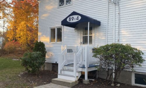 Front Exterior Photograph of 89 Center Street, Unit #4, North Easton, MA